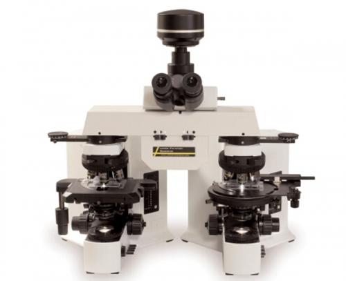 痕迹证据对显微镜